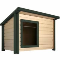 New Age Pet Rustic Lodge Dog House -X Large