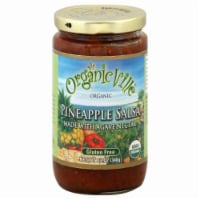 Organicville Organic Pineapple Salsa With Agave Nectar