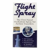 Flight Spray Nasal Hydration Spray - Airline Travelers - .5 oz - Case of 1 - .5 FZ each