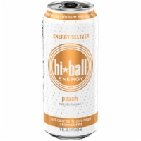 HiBall Peach Sparkling Energy Water