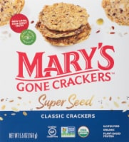 Mary's Gone Crackers Organic Super Seed Classic Crackers