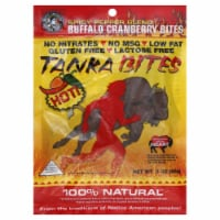 Tanka Bites Buffalo Meat With Cranberries And Pepper Blend - 3 oz