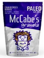 McCabe's  Granola Paleo Friendly Gluten Free   Cran Bedrock Berries