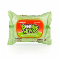 Boogie Wipes Fresh Scent Gentle Saline Nose Wipes 30 Count