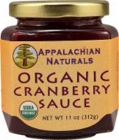 Appalachian Naturals  Organic Cranberry Sauce