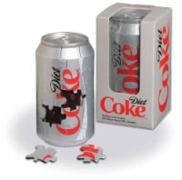 Springbok's 40 Piece Jigsaw Puzzle Diet Coke 3-D Can - 1