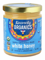 Heavenly Organics Raw White Honey - 12 oz