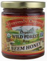 Heavenly Organics Raw Wild Forest Neem Honey - 12 oz