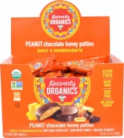 Heavenly Organics Gluten Free Peanut Chocolate Honey Patties