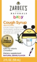 Zarbee's Naturals Grape Baby Cough Syrup