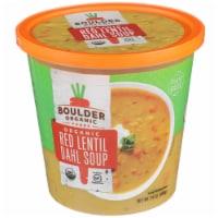 Boulder Organic Lentil Red Dahl Soup