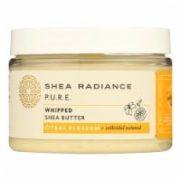 Shea Radiance - Shea Butter Whipped Cit Blossom - 1 Each - 7 OZ - Case of 1 - 7 OZ each