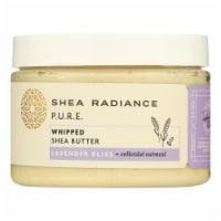 Shea Radiance - Shea Butter Whipped Lavender Bliss - 1 Each - 7 OZ - Case of 1 - 7 OZ each