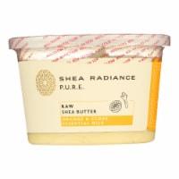 Shea Radiance Unrefined Shea Butter  - 1 Each - 14 OZ - Case of 1 - 14 OZ each