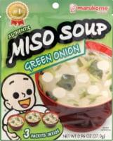 Marukome Green Onion Miso Soup - .96 Oz