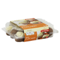 Antonina's Artisan Bakery Gluten Free Mini Carrot Cupcakes