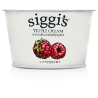 siggi's Raspberry Skyr Icelandic-Style Strained Triple Cream Yogurt