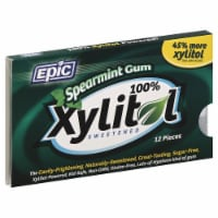 Epic Dental Xylitol Spearmint Gum