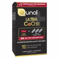 Qunol Ultra Coq10 Softgels 100 mg 30 Count