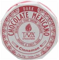 Taza Chocolate Organic Cinnamon Chocolate Mexicano Disc