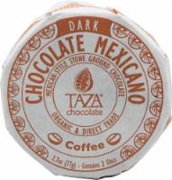 Taza Chocolate Coffee Dark Chocolate Mexicano Discs