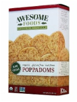 Awesome Foods  Organic Raw Poppadoms Gluten Free