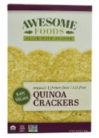 Awesome Foods  Organic Quinoa Crackers