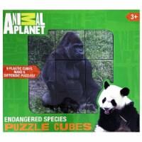 Animal Planet Endangered Species Puzzle Cubes - 9 Plastic Cubes Make 6 Different Puzzles - 1