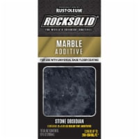 Rust-Oleum 60060 Rocksolid STONE OBSIDIAN Marble Additive 200-250 sq ft - 1 kit each