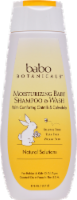 Babo Botanicals Moisturizing Baby Shampoo & Wash with Oatmeal and Calendula