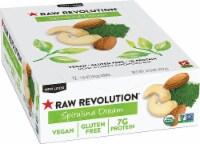 RAW REV  Organic Fruit Nut Seed Bar   Spirulina Dream