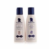Noodle & Boo Bundle Of Joy Set: Newborn 2in1 Hair & Body Wash 59ml/2oz + Super Soft Lotion 59 - 2pcs