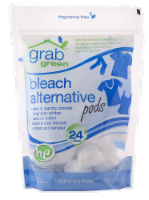 Grab Green Fragrance Free Bleach Alternative Pods - 15.2 oz