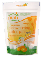 Grab Green Tangerine Lemon Dishwashing Detergent Pods