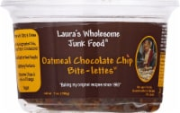 Laura's Wholesome Junk Food Oatmeal Chocolate Chip Bite-lettes