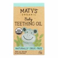Maty's - Baby Teething Oil - Case of 4 - .75 FZ - Case of 4 - .75 FZ each