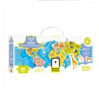 What in the World Puzzle: Animals Around the Globe age 4+