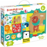 Suuuper Size Puzzle Animal Match age 2+