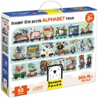 Suuuper Size Puzzle Alphabet Train age 3+