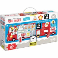 Make-a-Match Puzzle Fire Truck age 2+