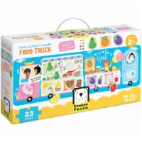 Make-a-Match Puzzle Food Truck age 2+