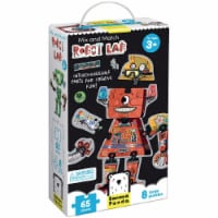 Mix and Match Robot Lab: Set of 8 Puzzles age 3+