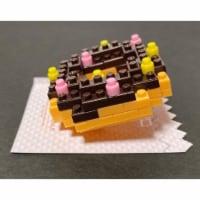 Chocolate Donut Petit Block from Daiso Japan - 1