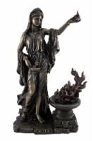 Greek Goddess Hestia Bronzed Statue Roman Vesta - One Size
