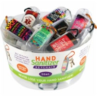 Novelty 50 ml Liquid Hand Sanitizer with Clip 021877 Pack of 24