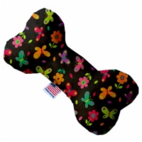 Butterflies in Brown 6 inch Bone Dog Toy