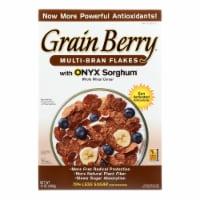 Grain Berry Antioxidants Whole Grain Cereal - Bran Flakes - Case of 6 - 12 oz. - Case of 6 - 12 OZ each