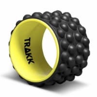 TRAKK ACCU-WHEEL Foam Roller Recovery Wheel for Full Body Pain Relief, Black - 1 Piece