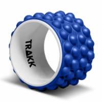 TRAKK ACCU-WHEEL Foam Roller Recovery Wheel for Full Body Pain Relief, Blue - 1 Piece