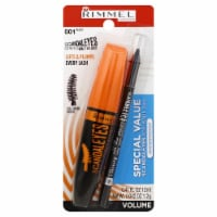 Rimmel Curve Alert 001 Black Waterproof Mascara & Eye Liner - 1 ct